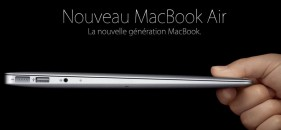 MacBook Air 11,6 pouces : un nouveau ultraportable de 128 GO